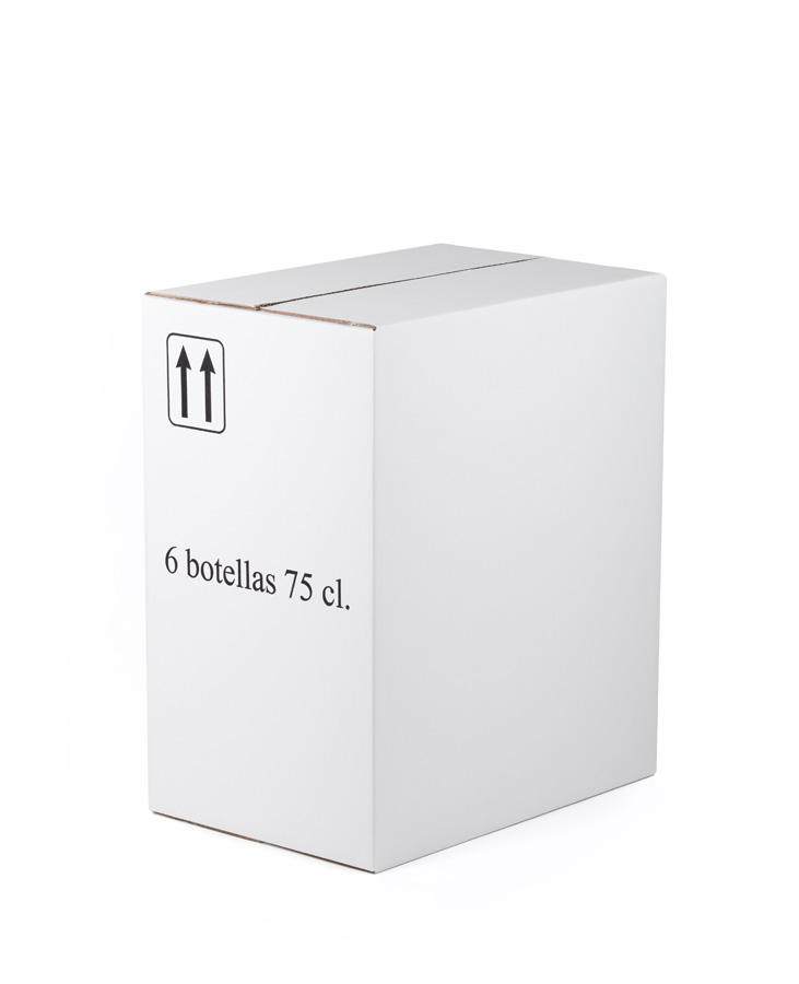 Caja 6 botellas Bordelesa Sin Rejilla 290 mm