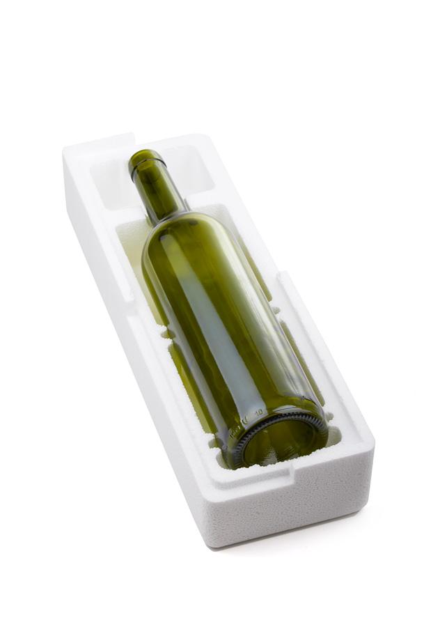 Estuche 1 botella poliexpan